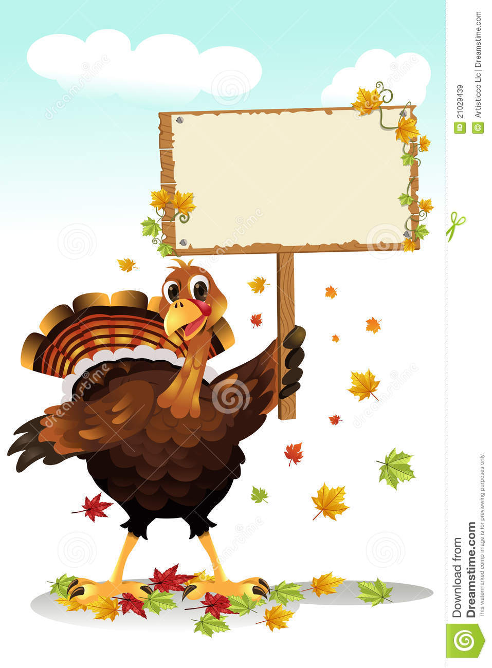 Pretty Girl Wallpaper Free Download Turkey Holding A Sign Royalty Free Stock Images Image