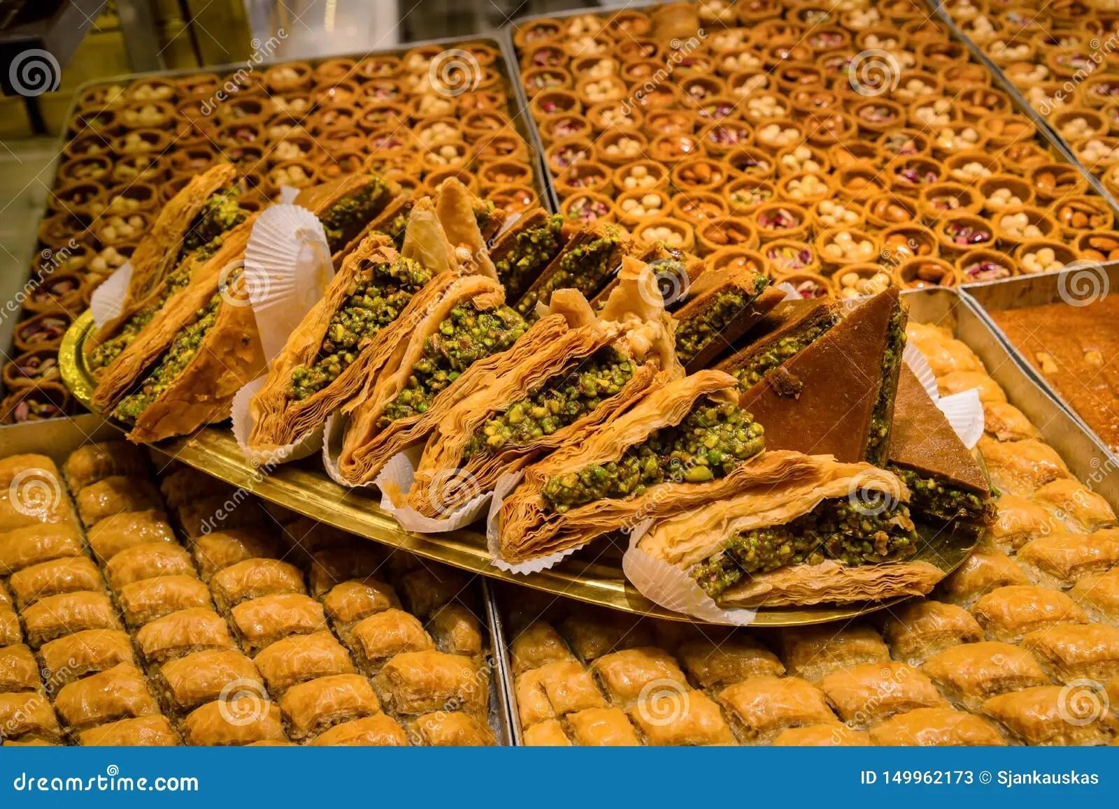 turkish baklava made of