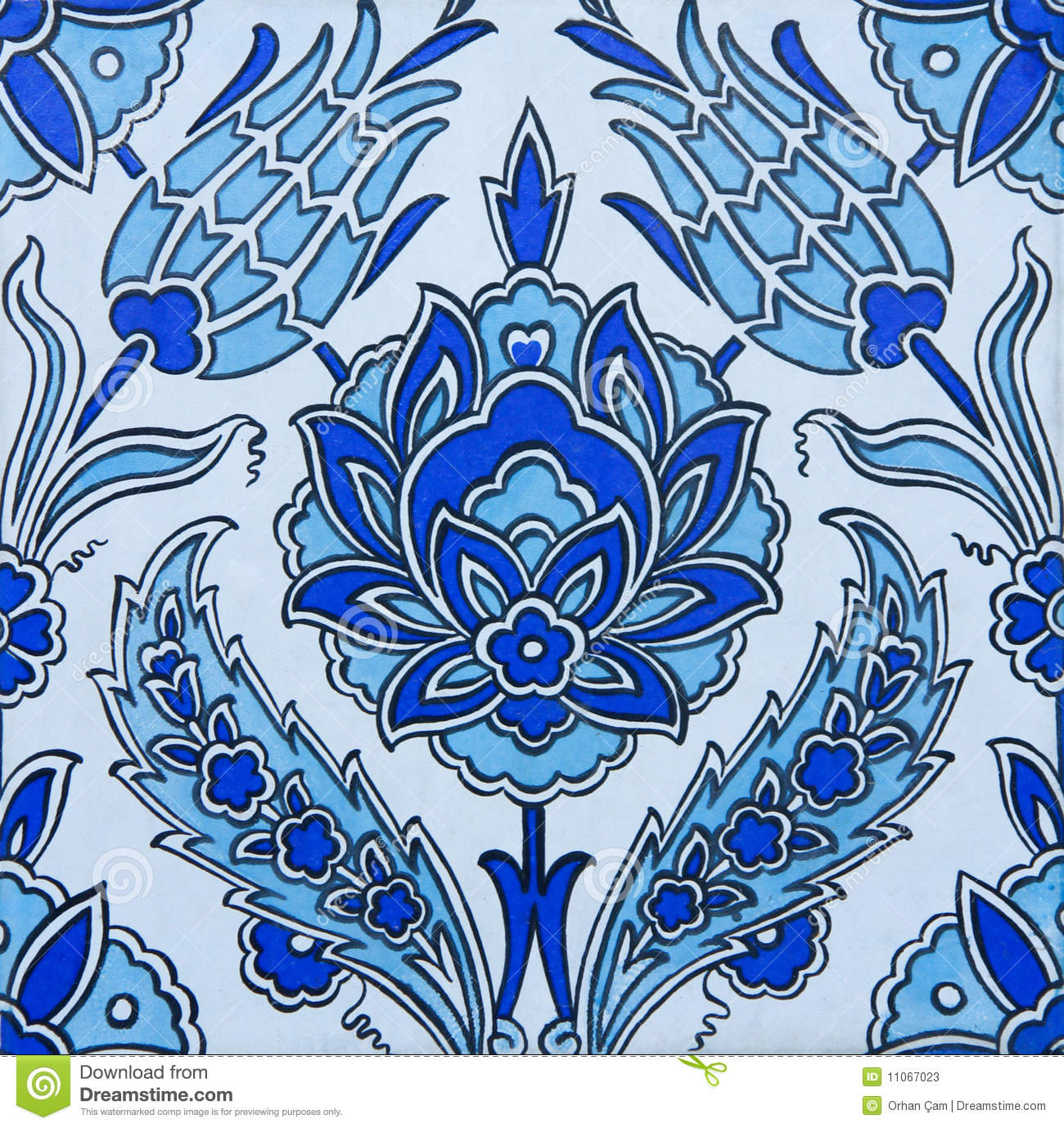 Turkish Tiles Stock Photos  Image 11067023