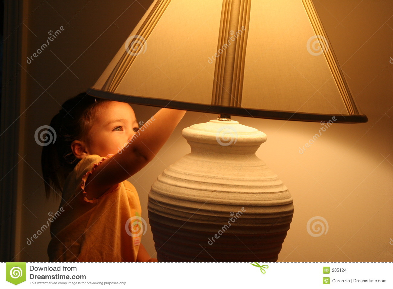 Turning Off The Lights Stock Images  Image 205124