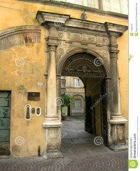 Tuscan Arch Lucca Italy Stock Image - Image: 11660731