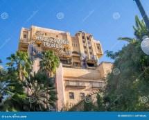 Disney California Adventure Hollywood Tower Hotel
