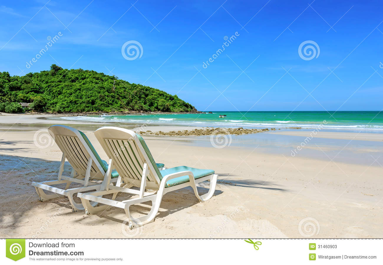 perfect beach chairs baby shower for sale two stock photos image 31460903