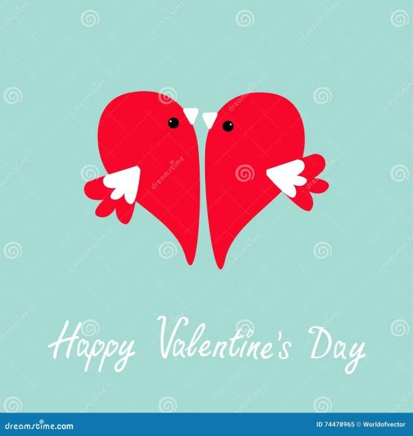 Comic Cartoon Love Heart Card Stock Cartoondealer