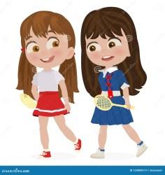 Walking Girls Stock Illustrations 3 978 Walking Girls Stock Illustrations Vectors & Clipart Dreamstime