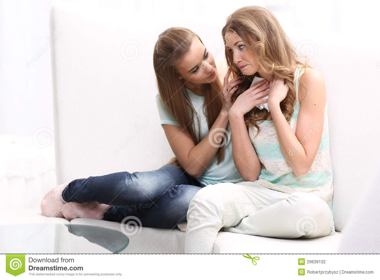 Two girls sitting on stock photo Image of model lime  29639132