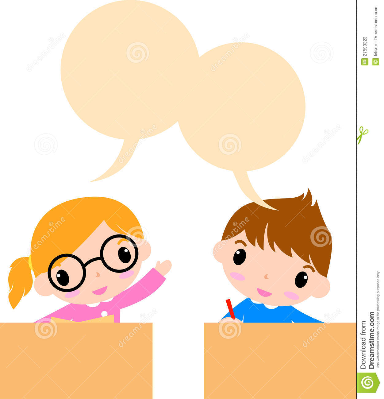 hight resolution of illustration of two kids talking mr no pr no 0 358 0no talking clipart kids