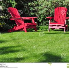 Two Seat Lawn Chairs Large Beanbag Chair Stock Image Of Rest 19318019 On A Green Grass In Backyard Garden Vertical