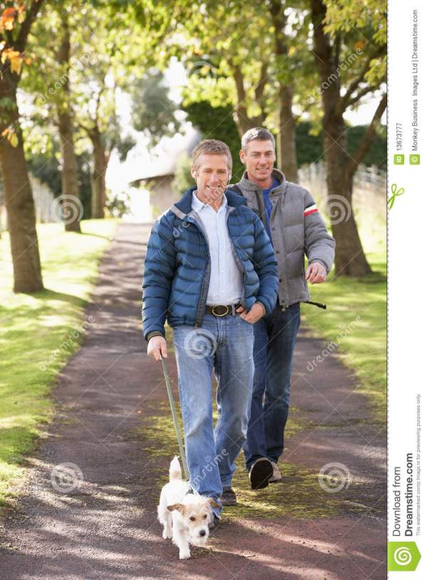 Two Friends Walking Together
