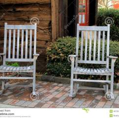 Gray Adirondack Chairs Elegant Chair Solutions Two Old On Brick Stock Photo