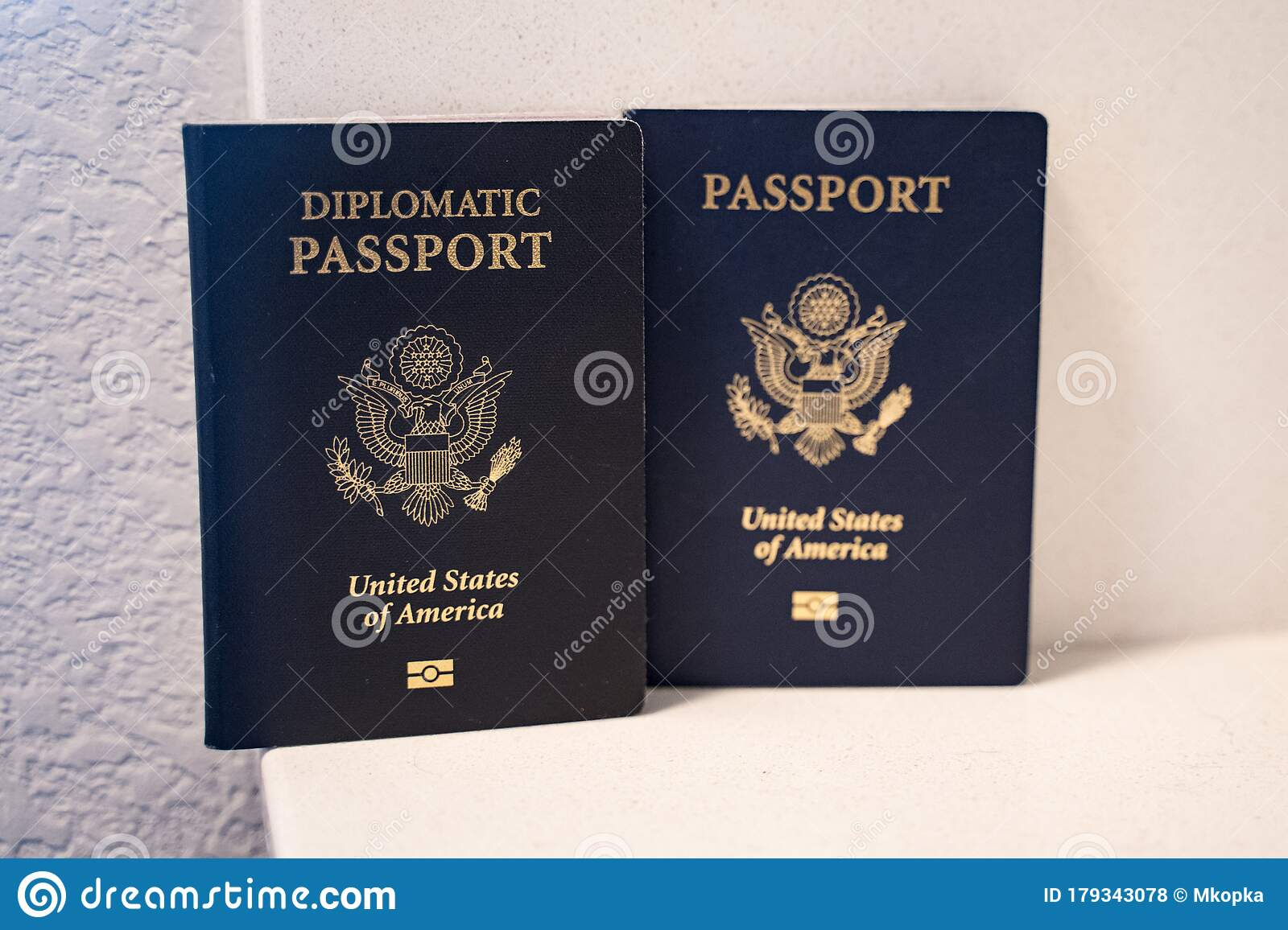 Two Passports For The United States Of America Citizens