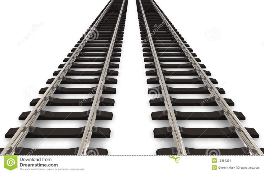 medium resolution of two railroad tracks