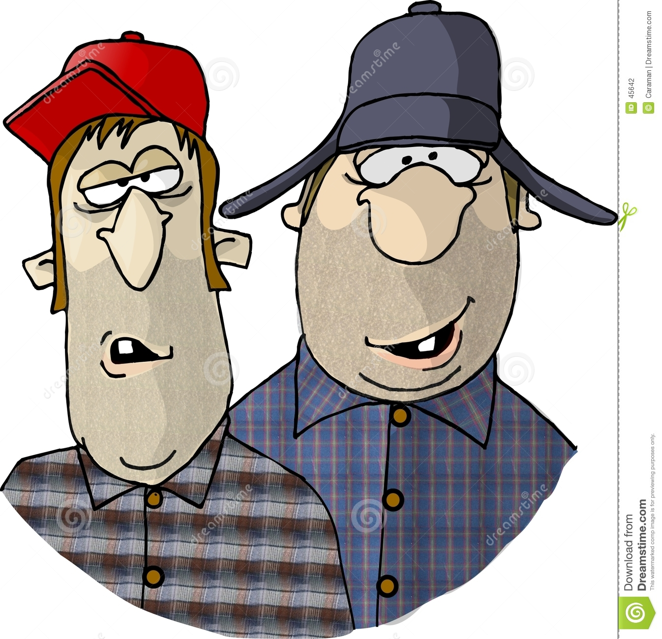 hight resolution of two rednecks this illustration that i created depicts two men with redneck tendencies royalty free