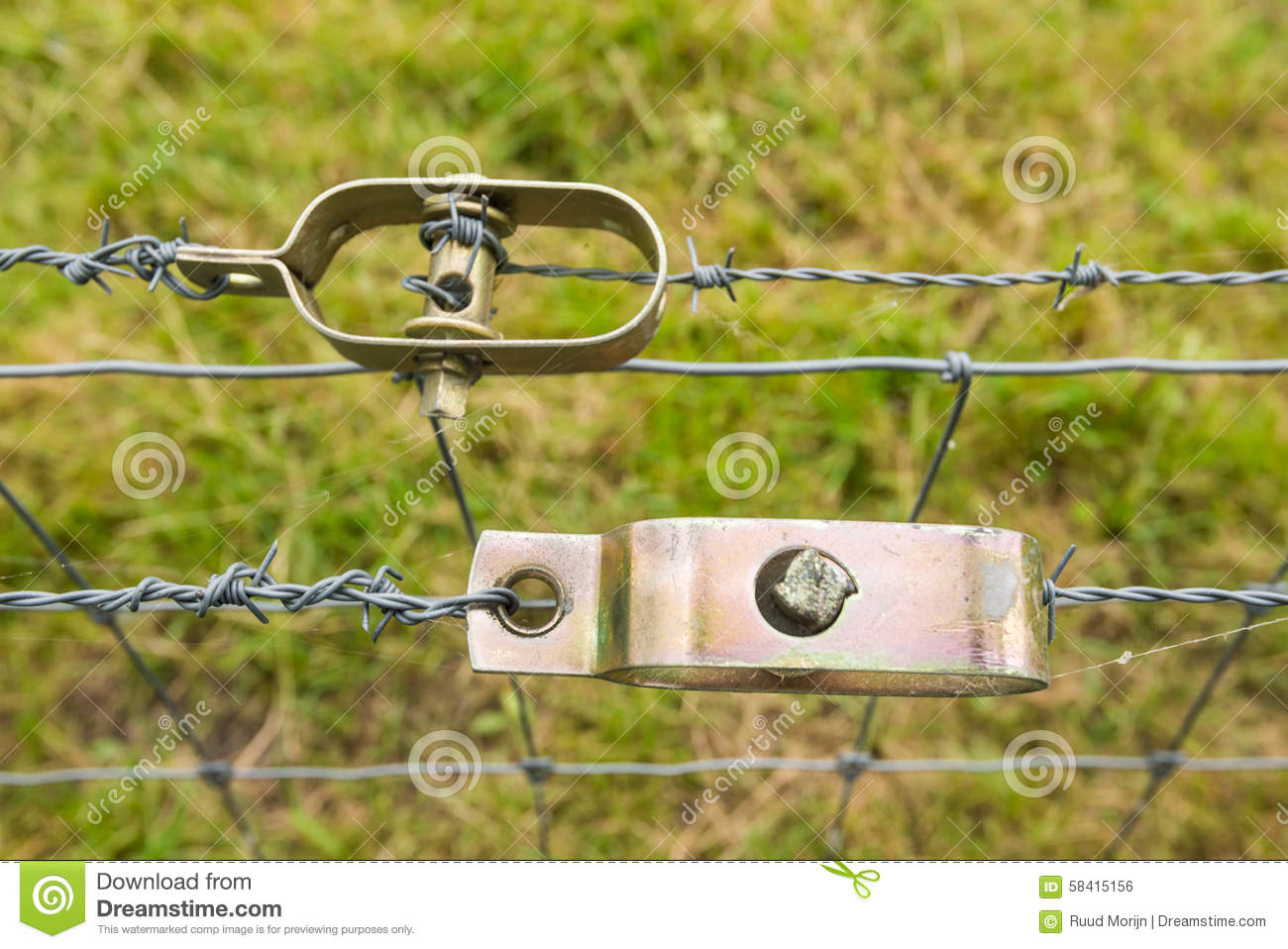 Two Wire Tensioners From Close Stock Photo Image Of Detailed Gauze 58415156