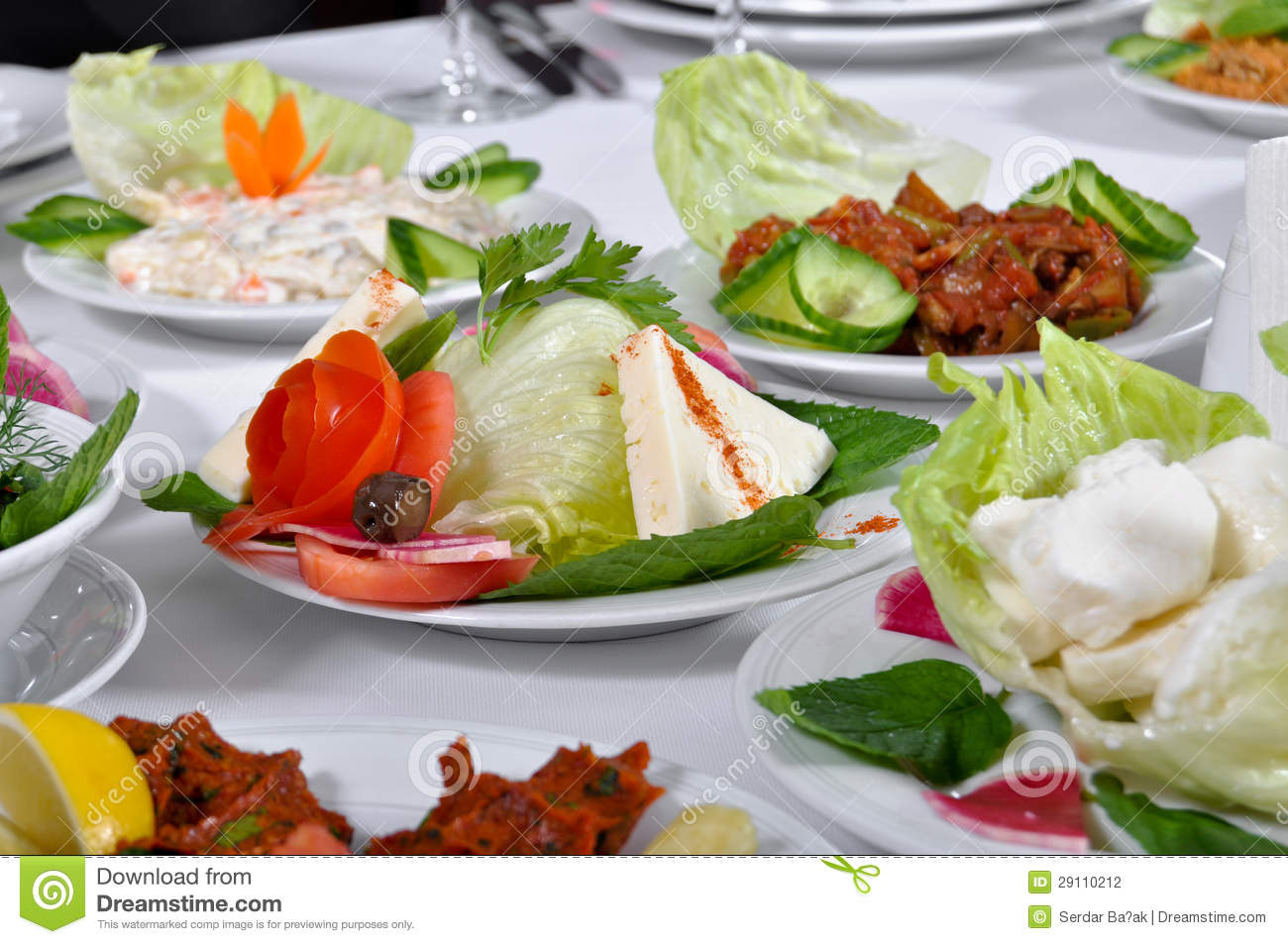 Types Of Appetizer Stock Photography Image 29110212