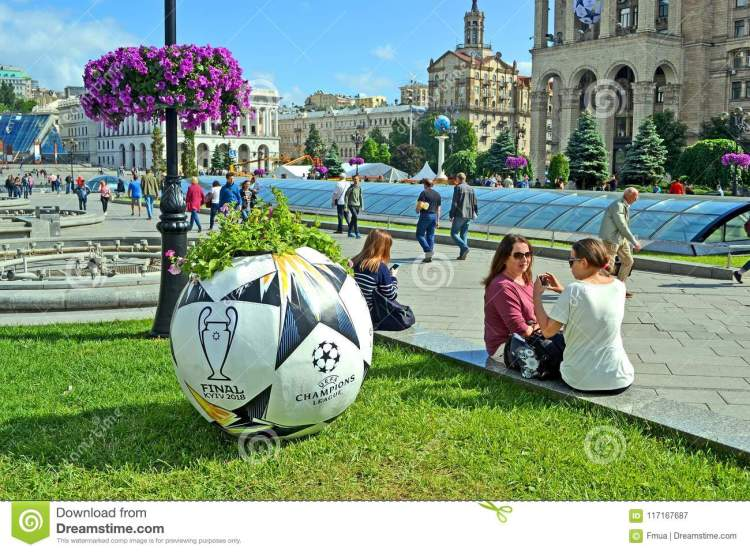 UEFA Champions League Final 2018 Symbols, Kiev, Ukraine ...