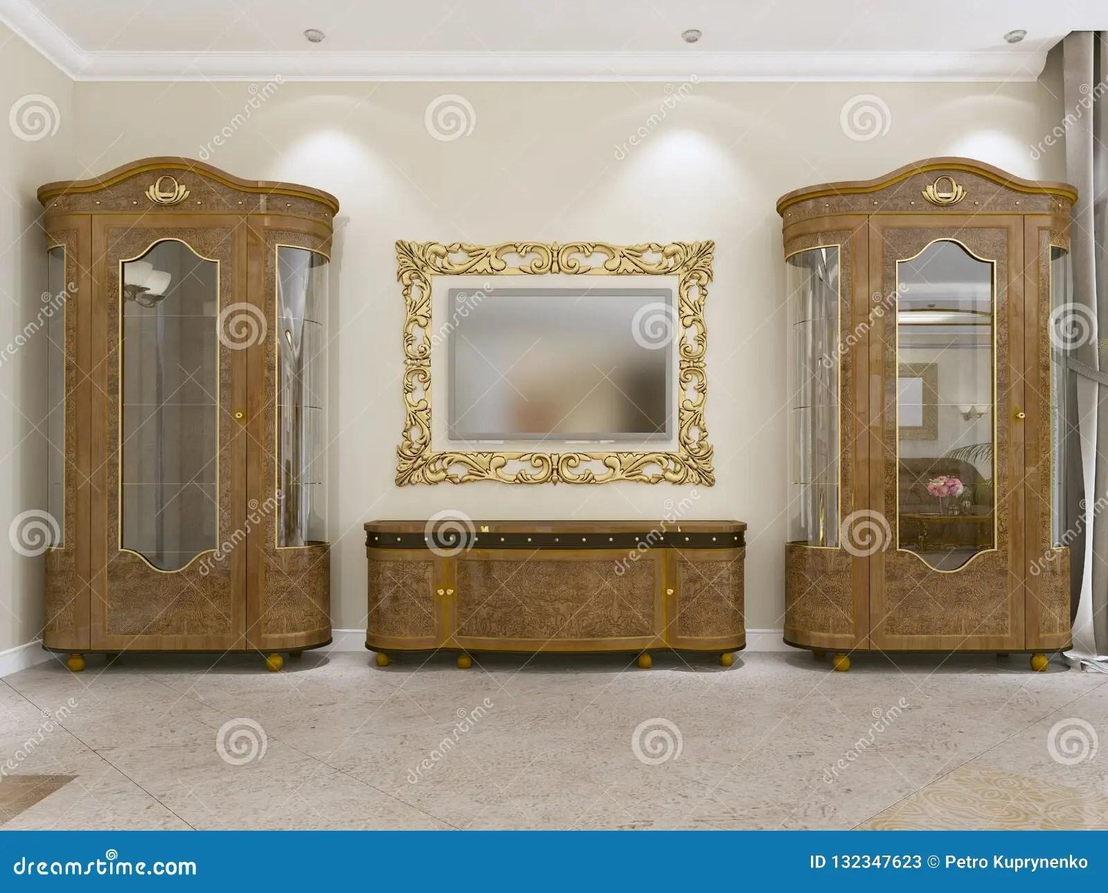 salon moderne buffet avec le stockage