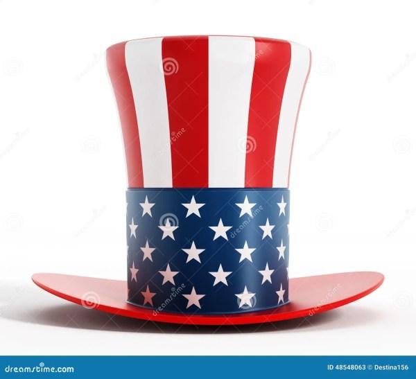 Uncle Sam Hat Stock Illustration - 48548063