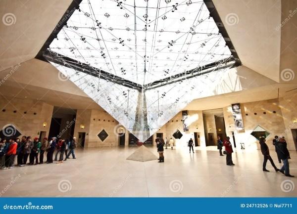 Louvre Pyramid Museum Entrance