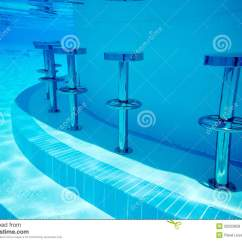 In Water Pool Chairs Quickie Wheelchair Parts Underwater Seats Royalty Free Stock Photos Image