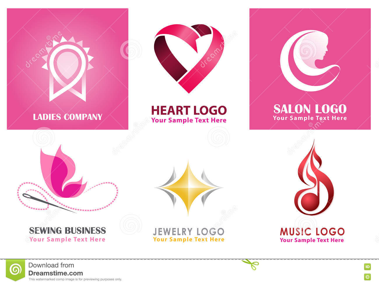unique logo collections for