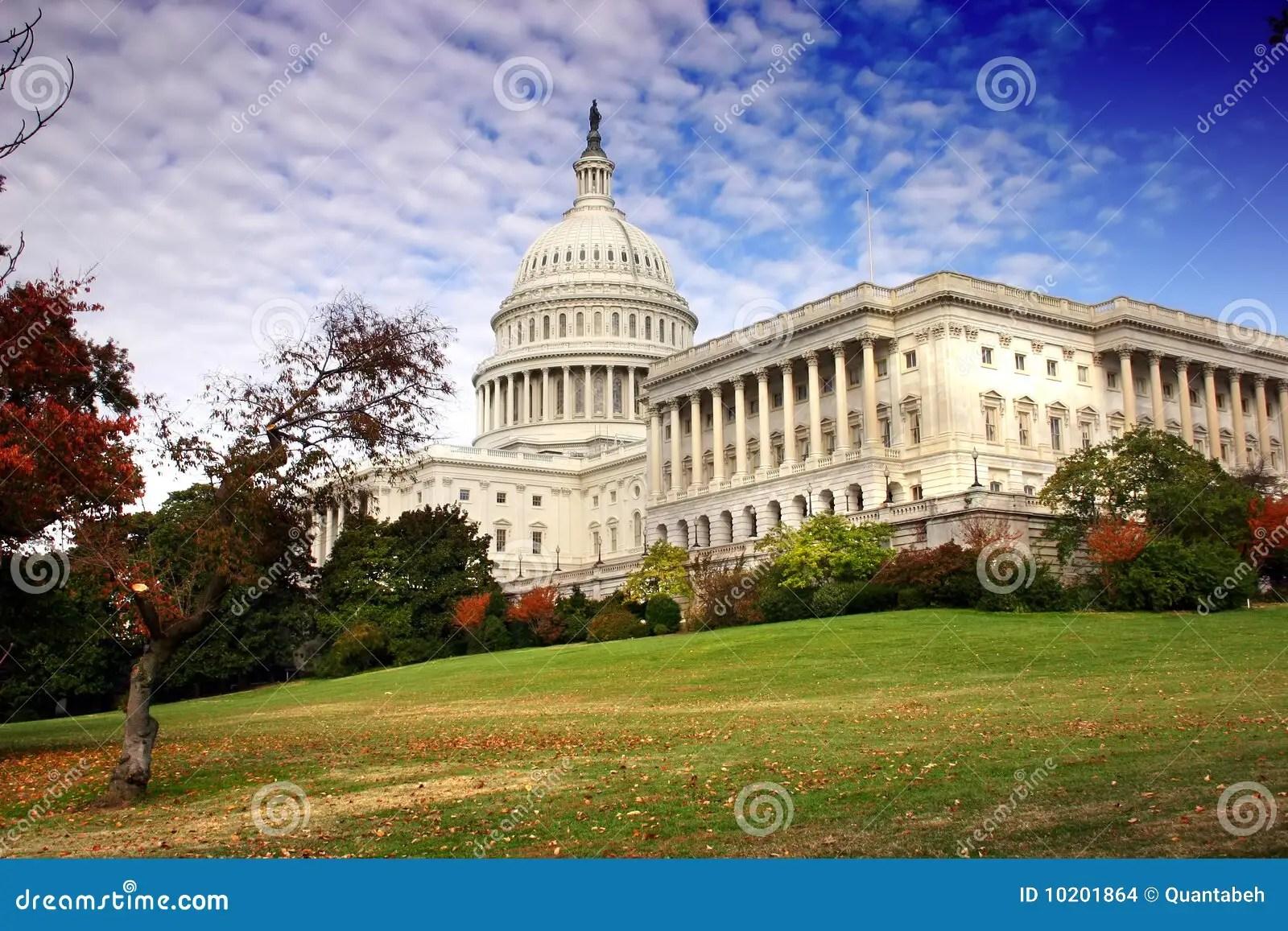 The United States Congress Stock Photo Image Of