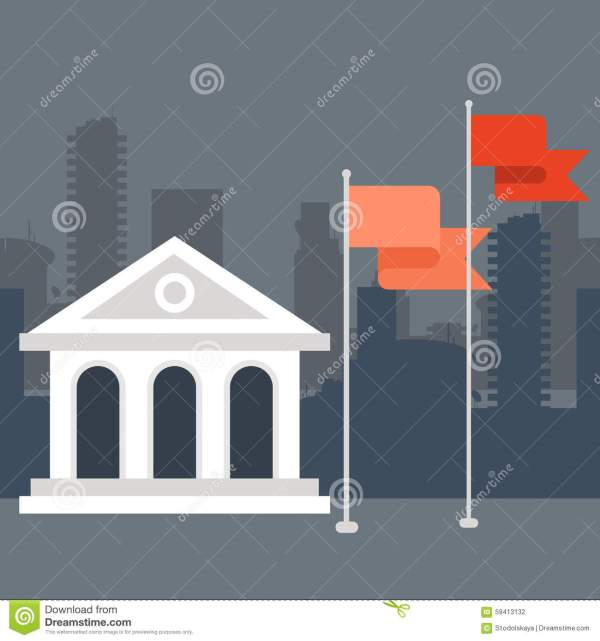 University Museum Building Stock Vector - Illustration Of Education Campus 59413132
