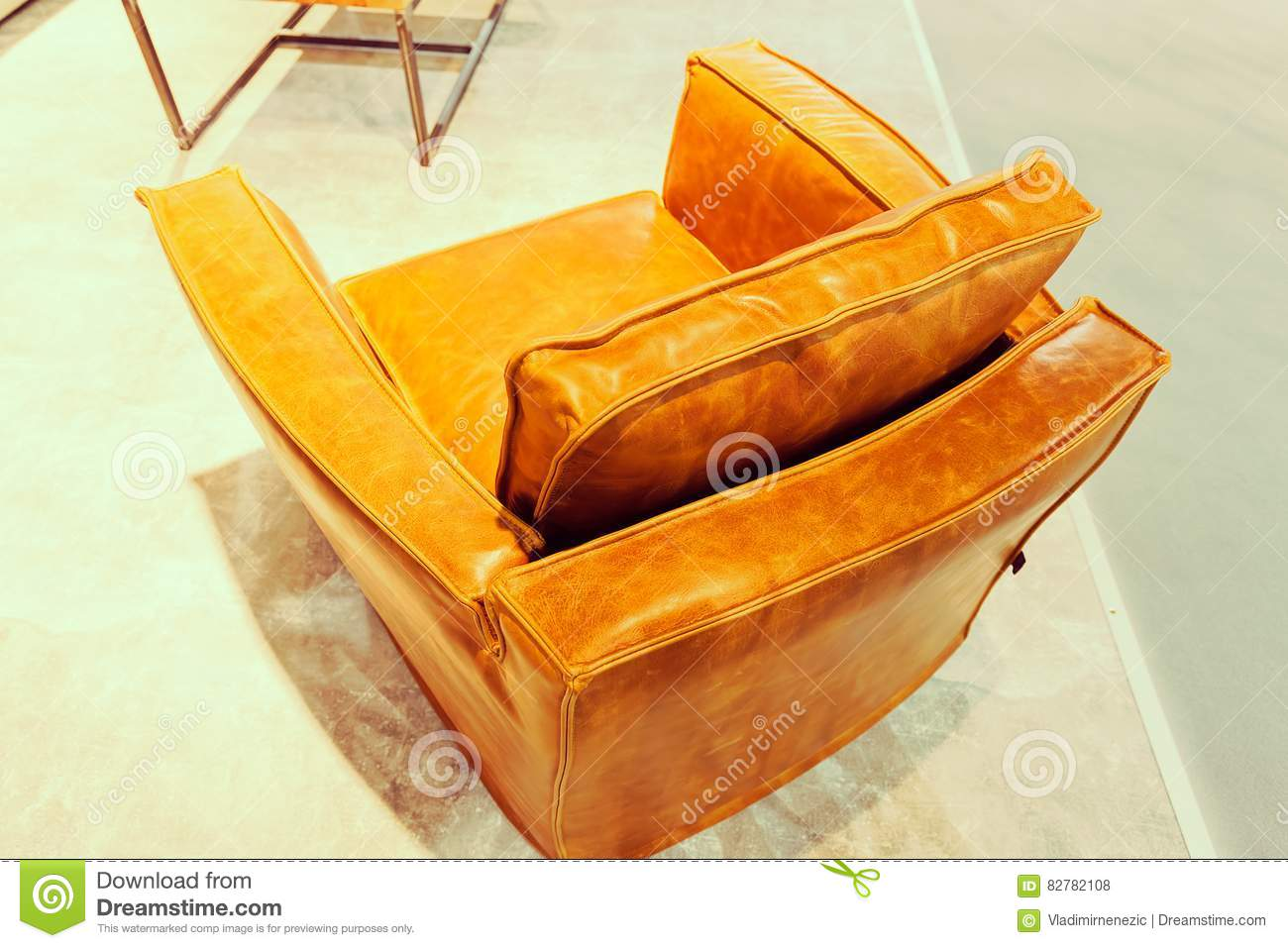 unusual armchair home office desk and chair set stock photo image of living sofa soft 82782108 example model modern note shallow depth field