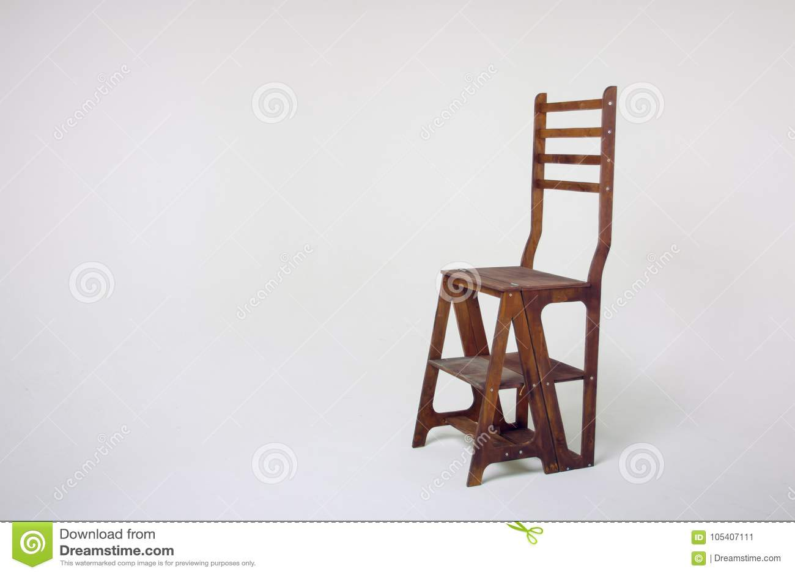 unusual chair legs director covers ebay australia wooden on a white background stock image of an cycramram cycramrame studio light in