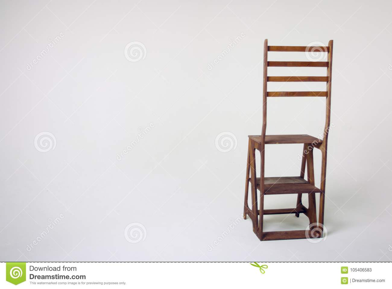 unusual chair legs pink club wooden on a white background stock image of an cycramram cycramrame studio light in