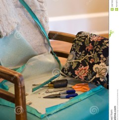 Chair Antique Styles Ergonomic Store Upholstery Tools Stock Photos - Image: 2987363