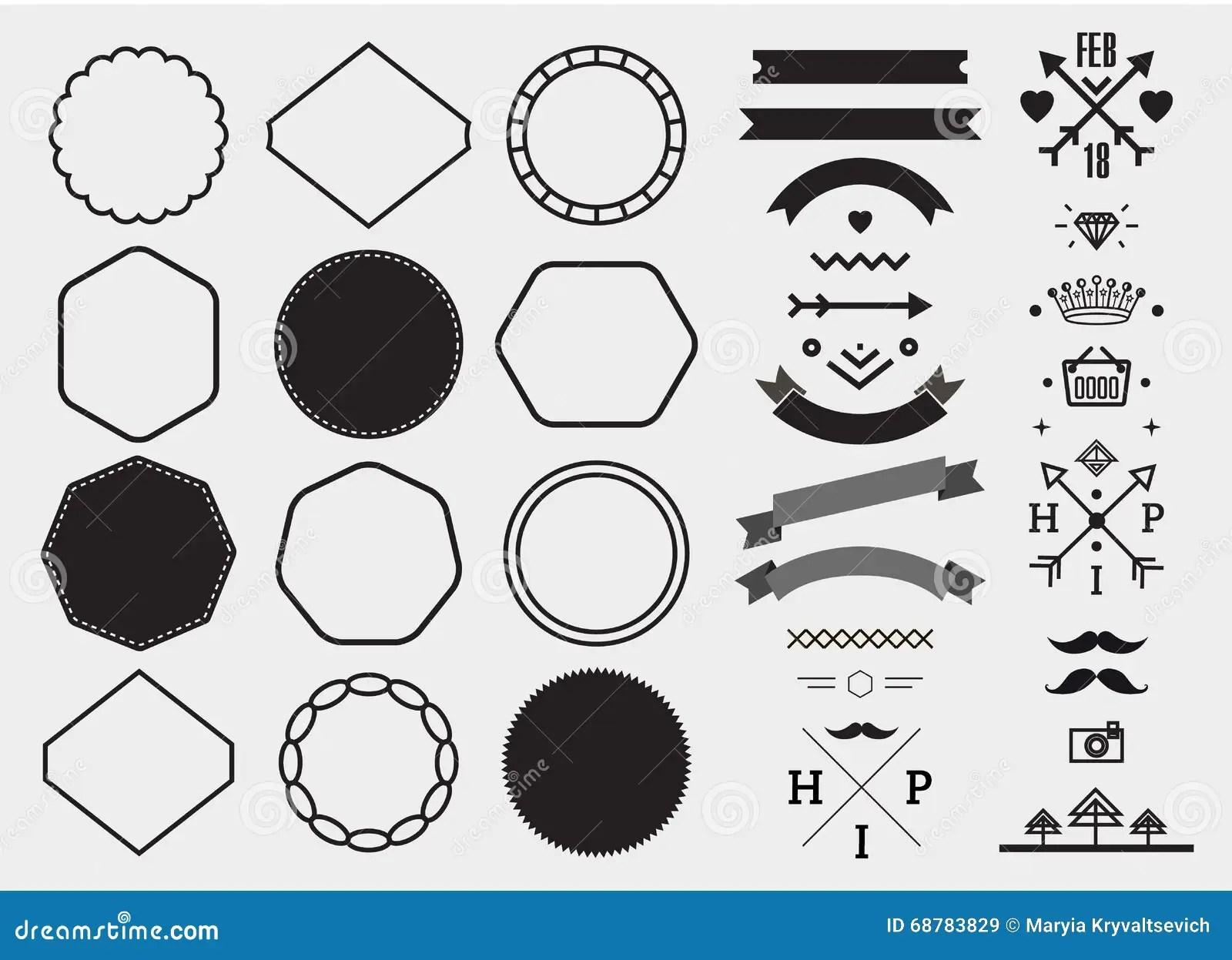 Uppsattning For Vektordesignmall Samling For