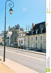 road urban medieval town amboise preview europe