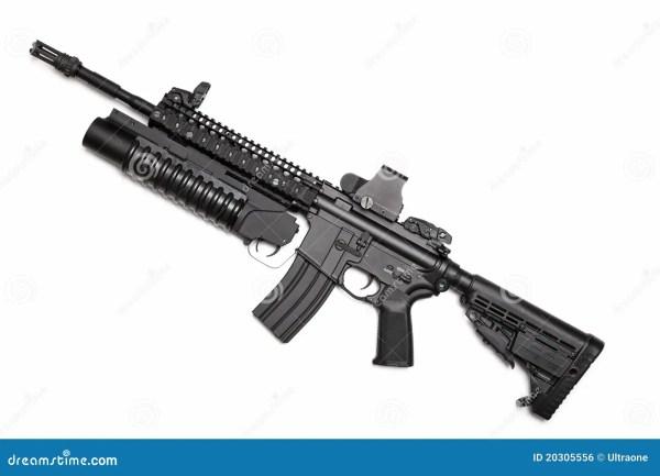 Spec Ops M4a1 Assault Rifle Stock - Of