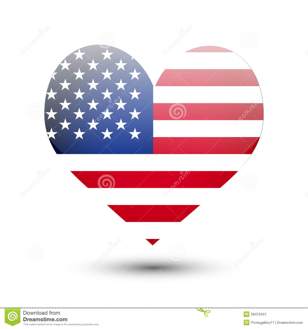 American Flag Heart Coloring Page | Battle Flag Of The Confederate ...