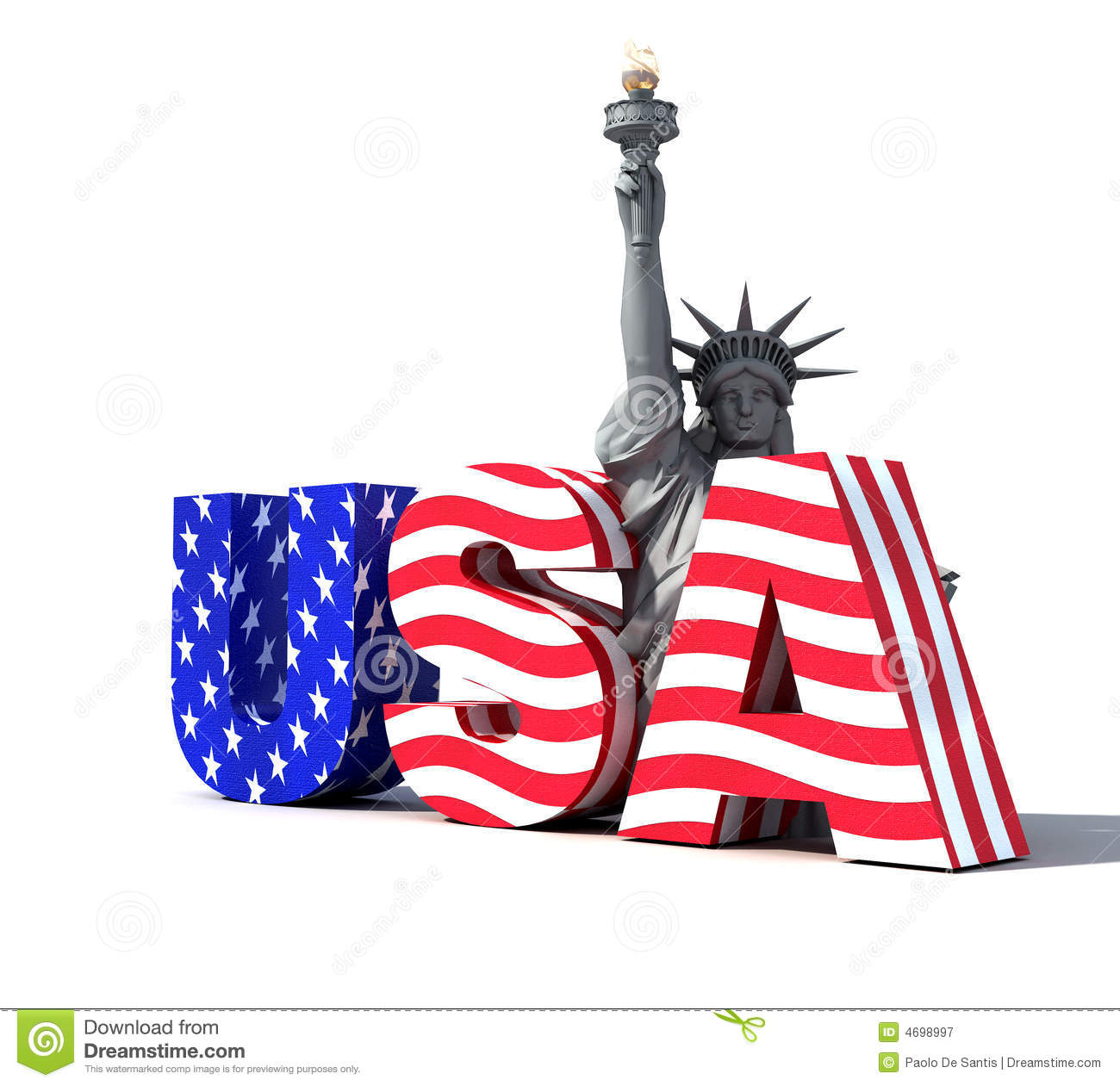 Usa Logo 2 Stock Illustration Illustration Of Free