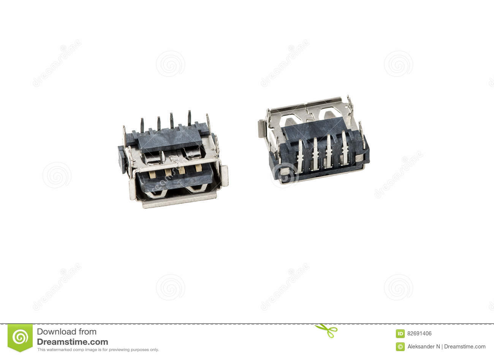 USB Jack, Plug, Socket, Connector For Laptop Notebook