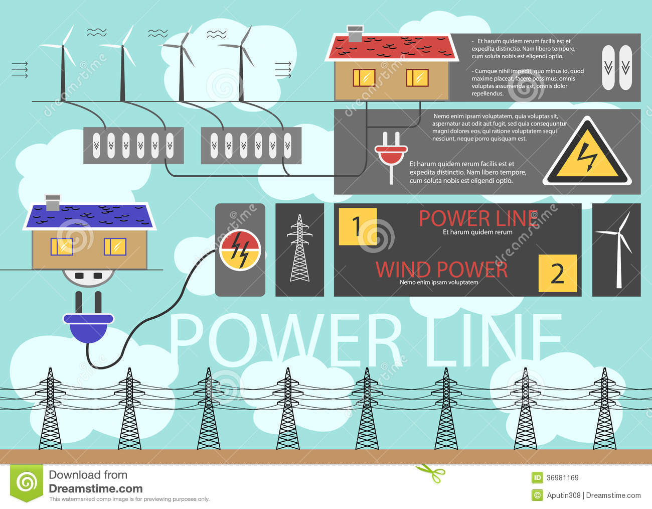 Use Of Electricity Stock Image Image Of Alternative