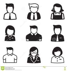 Employee Icon Vector