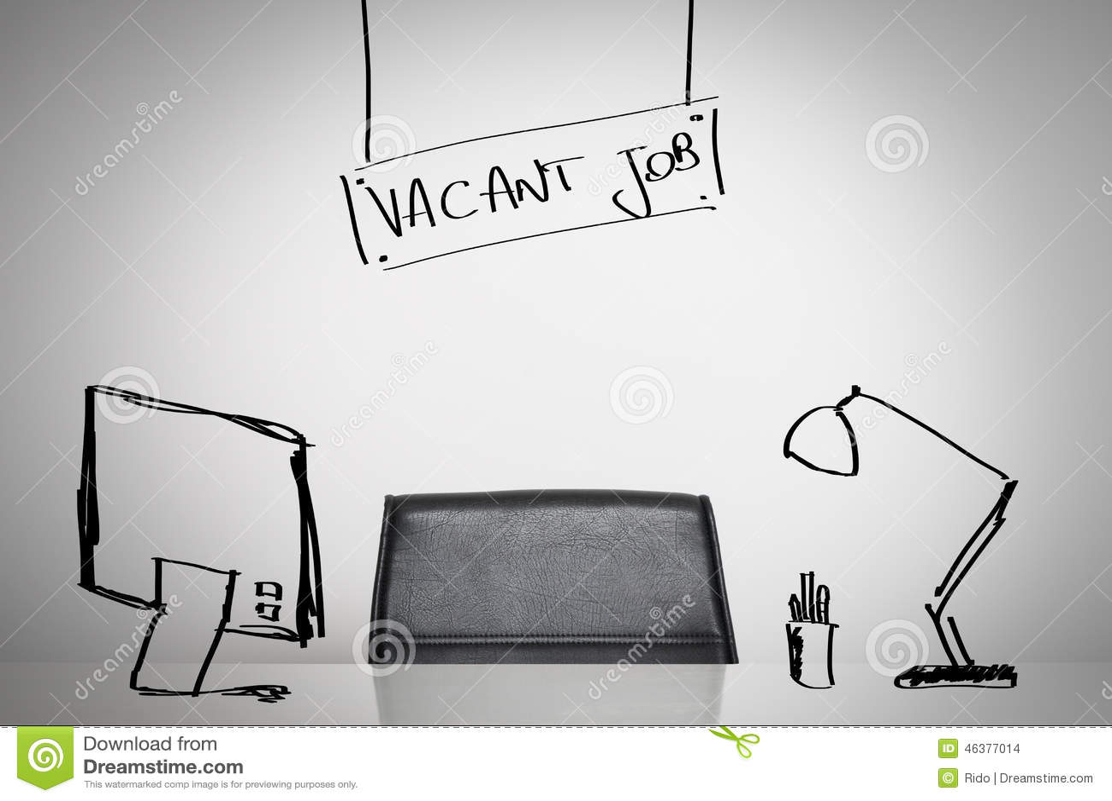 Vacant Job Stock Photo  Image 46377014