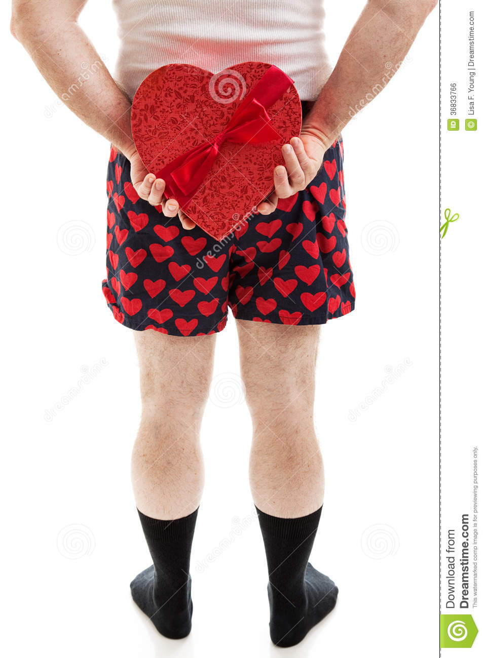 Valentine Candy Surprise Royalty Free Stock Image Image