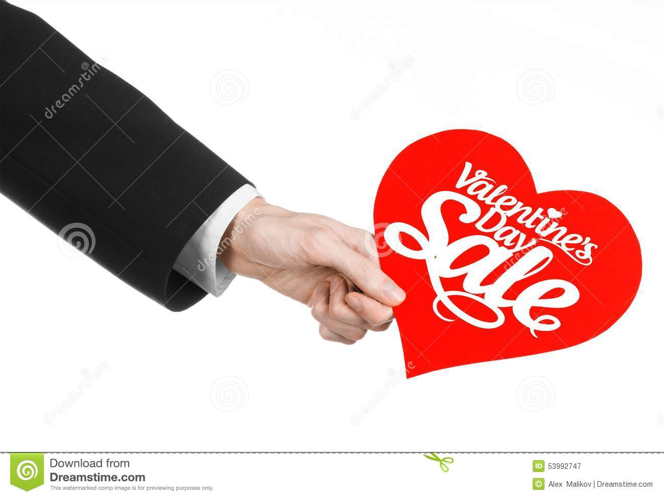 Man Holding Heart In Hand Royalty Free Stock Photography