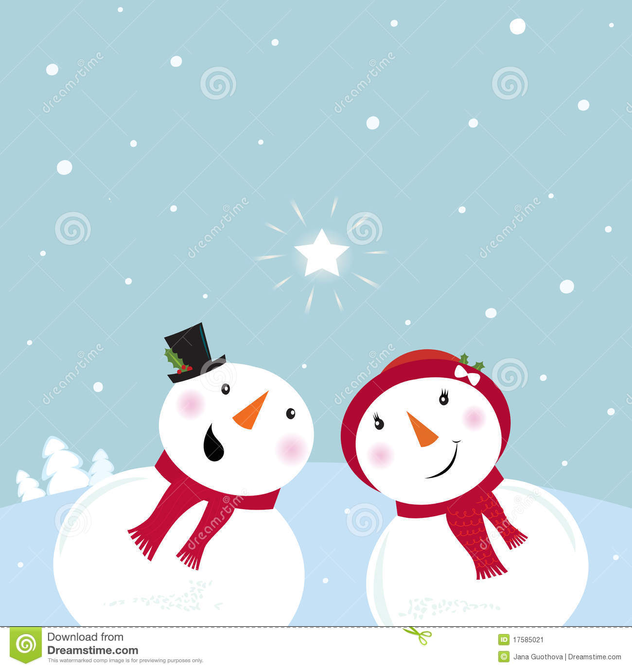 Falling Snow Live Wallpaper For Pc Valentine 180 S Day Snowman Amp Snow Woman Stock Image