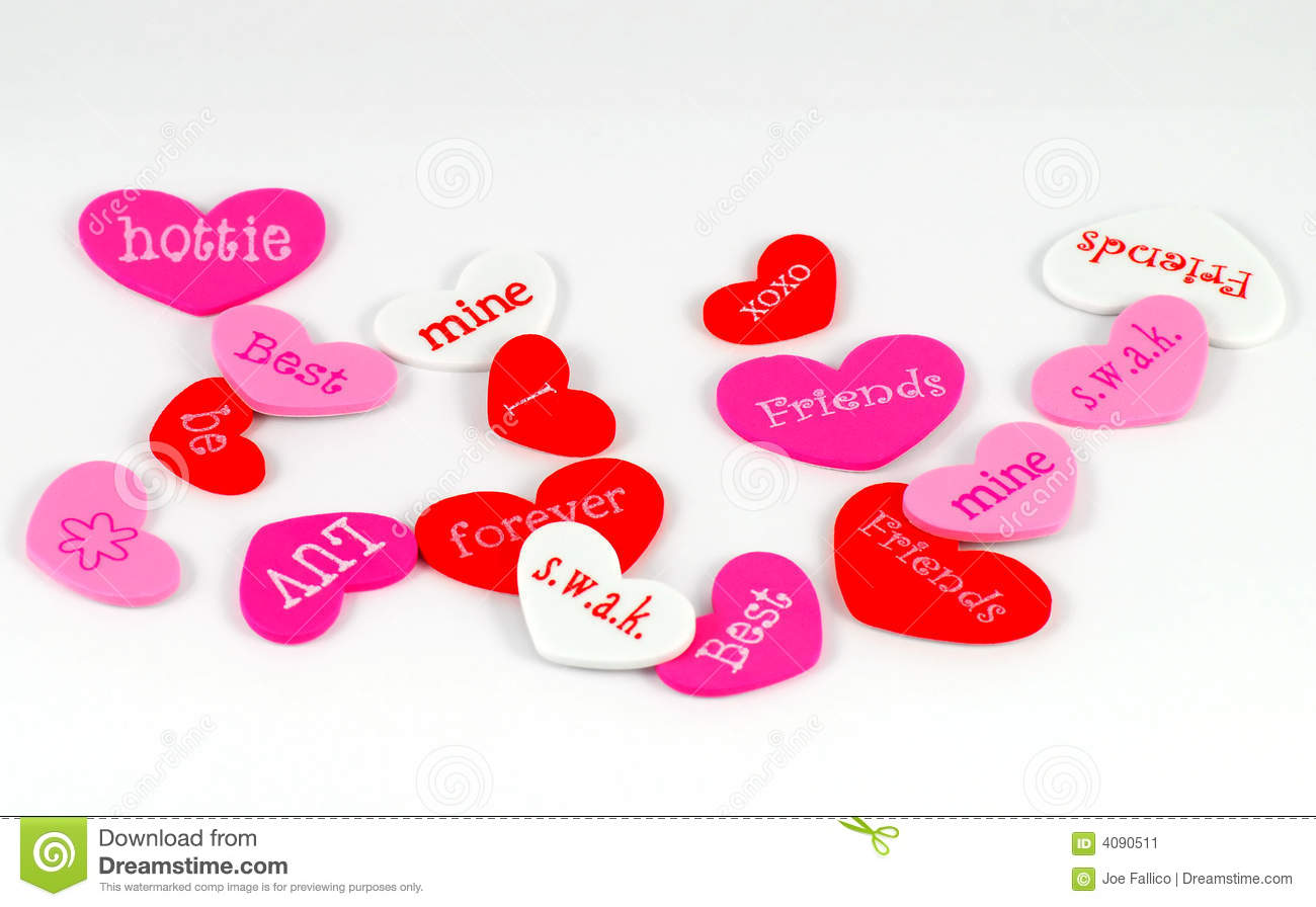Valentine S Heart Shapes Stock Image