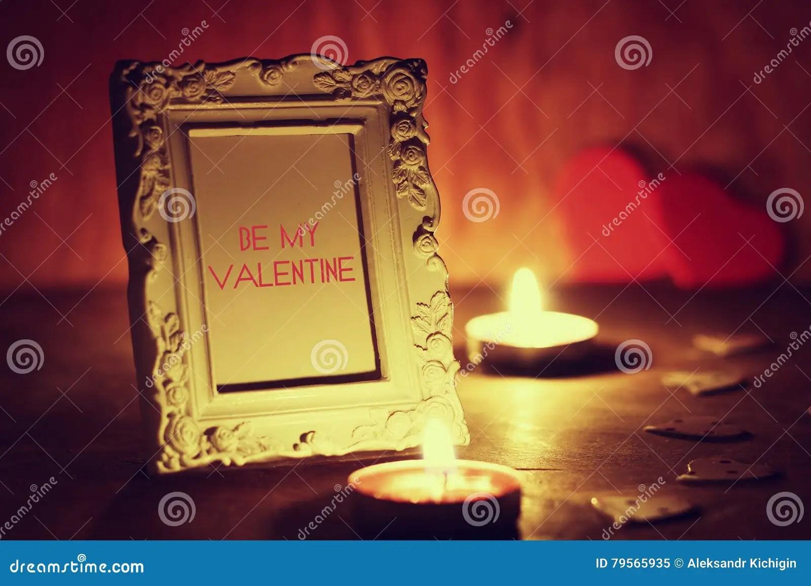 Valentine X27 STag Leuchtet Wein Durch Stockfoto  Bild