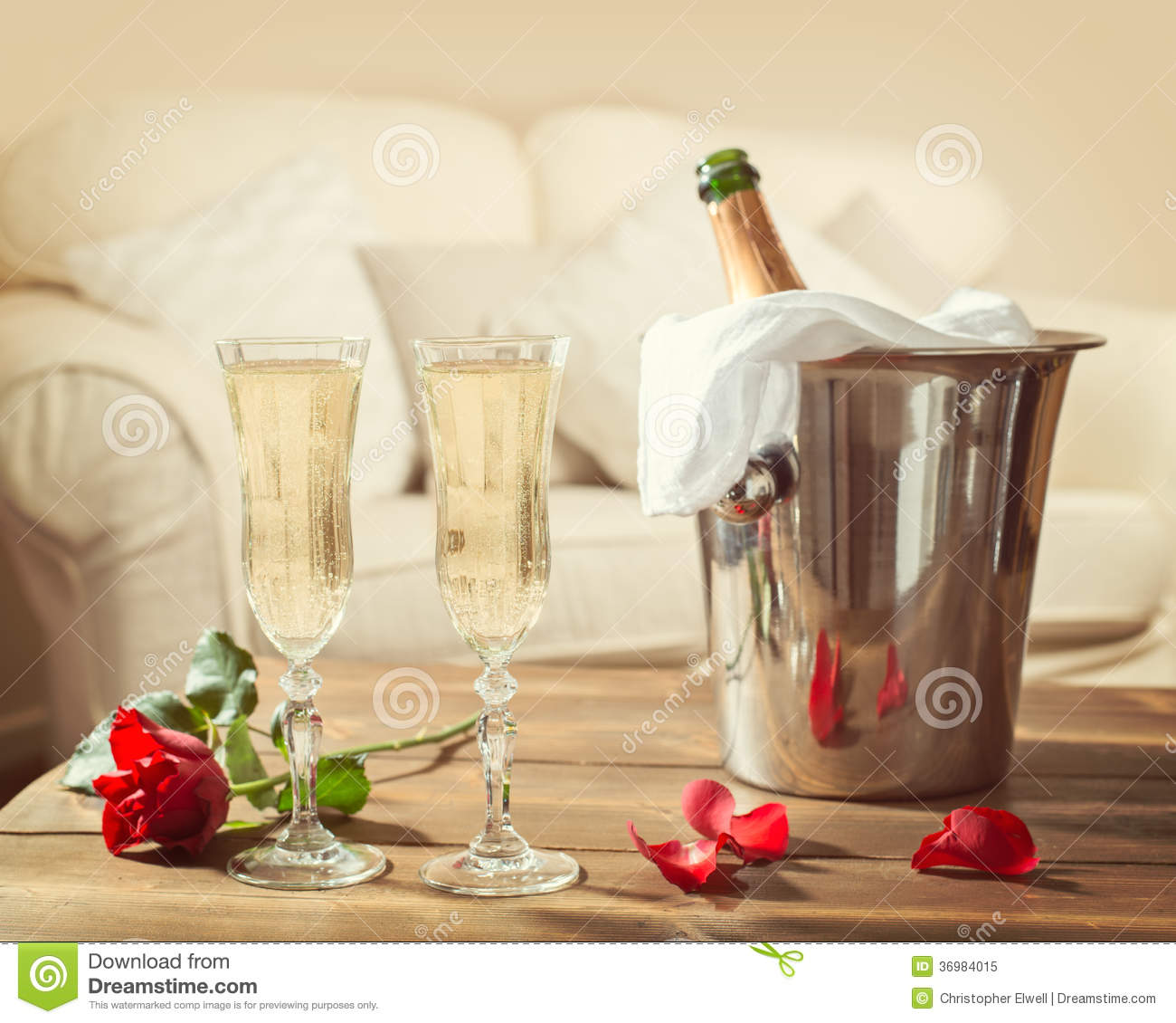Single Flower Hd Wallpaper Valentines Day Champagne Royalty Free Stock Photo Image