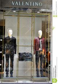 Valentino Man Fashion Store In Italy Editorial Image ...
