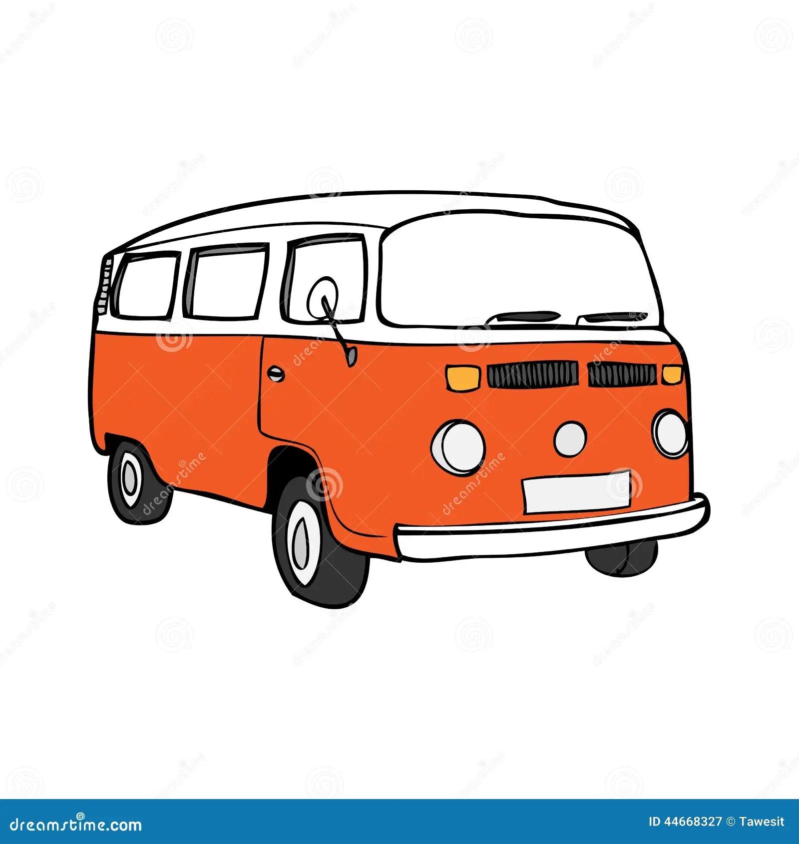 Easy Drawing Van Simple Truck Coloring Page Free Printable