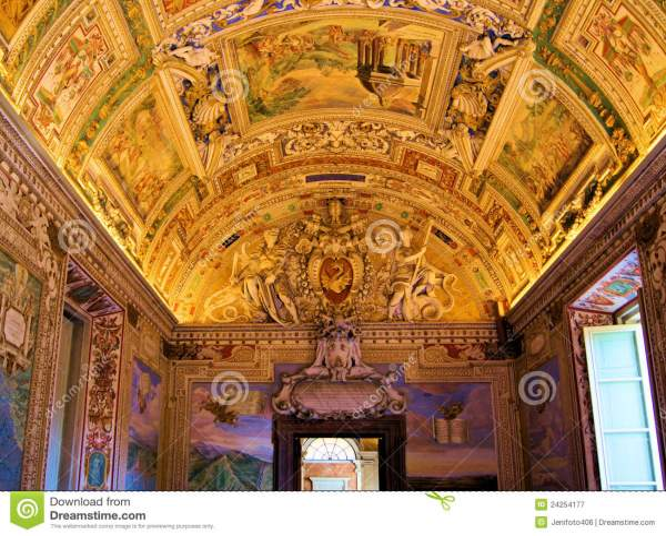 Vatican Art Royalty Free Stock - 24254177