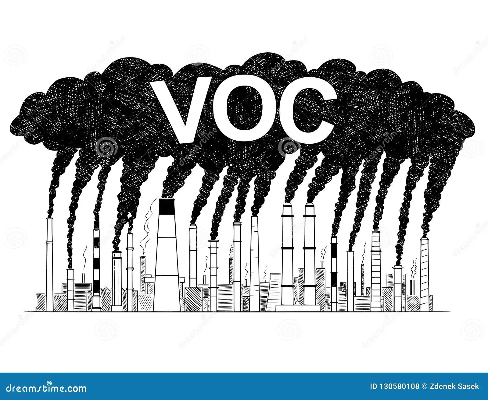 Vector Artistic Drawing Illustration Of Smoking